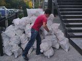 Evacuarea gunoiului Вывоз строй мусора