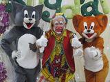 "Клоун - Clovnul  ""BiBilica"" ,cu prietinii sai,Tom & Jerry ,Panda , la orce sarbatoare !"