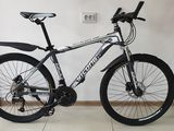 Bicicleta cu frîne hidraulice