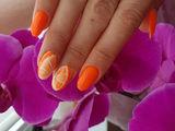 Гелевое наращивание ногтей +лак-гель качественно и быстро чеканы