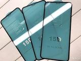 Защитное стекло  iphone 15D ,розница оптом cel mai mic pret...