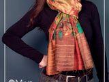 Шарфы, палантин, платки, из Индии (хлопок, шелк 100%, шерсть)