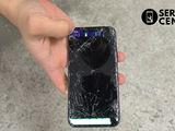 Iphone X   Ecranul sparta – vino la noi indata
