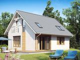 Urgent!!! Casa construita in stil modern, La Rosu cu finisare exterioara 160 M 2.