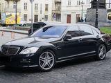 Mercedes Benz S Class w221, negru/alb, cortegiu!