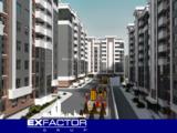 Exfactor Grup - Buiucani, 1 cameră 43 m2 et. 3 de la 550 € m2, prețul 23.650 € cu prima rată 7.100 €