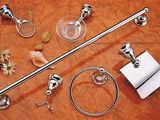 аксессуары для ванной комнаты с установкой на плитку