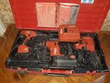 Перфоратор и шуруповет hilti комплект с зарядкой