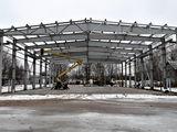 Construcții metalice: hale, depozite, frigidere, ferme, centre comerciale, servicii auto ...