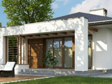 Дом-фазенда в итальянском стиле.