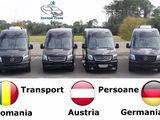 Germania >> Moldova  tur-retur zilnic transport pasageri/colete la adresa!