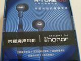 Huawei Honor Monster N-tune100. Вакуумные наушники со стерео гарнитурой.