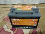 Аккумулятор DETA db740 74ah 680 пусковой ток