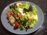Business lunch 26.12.2019 / salata  cu creveti
