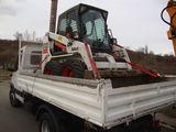 Servicii  profesionale cu incarcatorul BobCat S130,excavator Volvo EC20