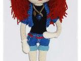 Кукла каркасная крючком