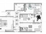 Atenție!!! 3 odăi 72m2 (50400 euro) bloc mic cu 35 de  apartamente