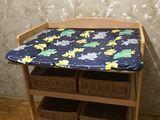 Продам деревянный пеленальный столик с корзинами / Masa de infasat
