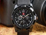 Часы Swiss Army мужские Армейские Тактические Кварцевые Наручные