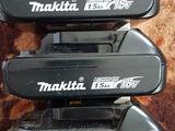 аккомуляторы Makita 18V. 1,5-3-4 Ah