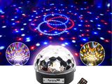 LED Music Ball 2х3W, USB, SD. Дискотека у себя дома! Дешего и эффектно! Супер цена!