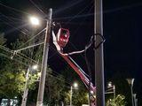Iluminatul stradal / монтаж уличного освещения
