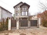 Отдельный дом,ул. Миорица, 180кв.м  3эт, 4комн, гараж на 2 машины! Телецентр,