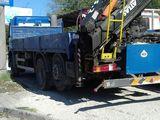 Грузоперевозки transport de marfa 10-24 tone servici cu manipuleator