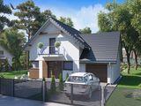 Новый современный дом с гаражом