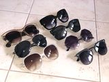 Ochelari de soare Dior, Prada, Versace