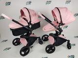 Стильная Детская коляска Aulon розовая новая