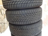 Новая зимняя резина Bridgestone.Рисунок 7мм. 195x55x15. С дисками на Skoda и Volkswagen.Торг