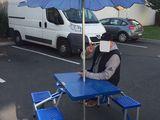 Раскладной Стол, стулья, зонт.