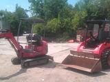 mini-excavator & mini-incarcator
