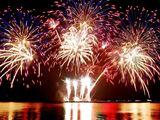Focuri de artificii,Фейерверки, în Botanica si Rișcani !