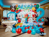 Decor din baloane cumetrii - Оформление шарами