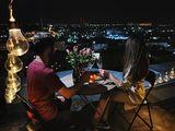 Seara romantica în aer liber , cine romantice