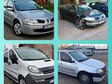 Разборка Дачиа  Renault Dezmembrari Dacia Renault Clio Megan Cabriolet