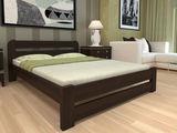 Кровать двуспальная из дерева 160х200. Массив сосны новая 3500 lei бесплатная доставка.