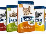 Сухой корм супер-премиум класса happy cat с бесплатной доставкой на дом