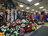 Sicrie,cruci,coroane in Ungheni cu livrare in 24 de ore