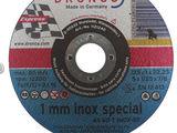 Disc abraziv pentru taiere inox si alte metale AS 60 T Inox-BF 125х1х22.23mm