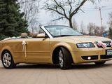 Audi A4 Cabriolet Транспорт для торжеств Transport pentru ceremonie