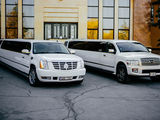 Se vinde afacere profitabila 2 limuzine Infinity QX56 si Cadillac Escalade