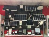 LED прожекторы на солнечных батареях
