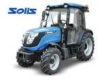 Tractor Solis (90 cai, 4x4) pentru lucru in livezi si vii
