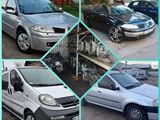 Разборка Dacia renault clio Megan Trafic cabriolet 1.5 1.4 1.6