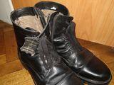 Ботинки кожа натуральная, 44 размер, зимние