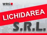 Lichidarea companiilor - SRL, ÎI