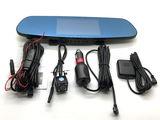 Зеркало видеорегистратор с антирадаром, gps, wi-fi на андроид, экран 5 дюймов!